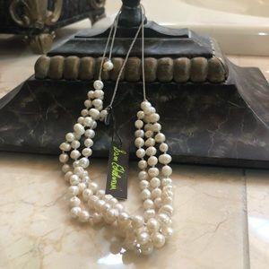 Sam Edelman Multiple Strand Fresh Water Pearls